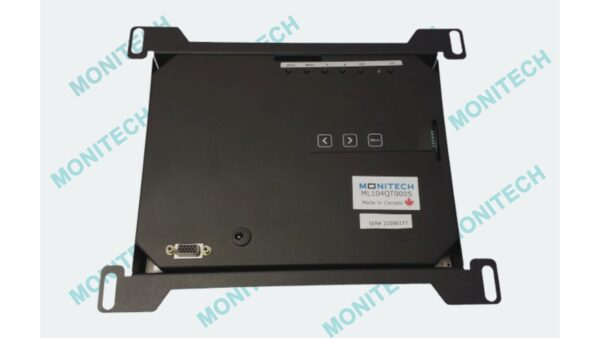 10 inch LCD back view