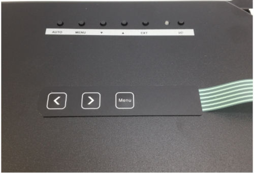 LCD back with Scan Converter strip