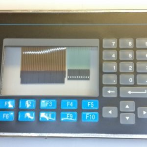 PV550 bezel with keypad and touch